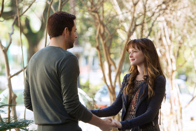 Both stars of Remember Sunday used to be part of two great TV shows: Alexis Bledel as Rory Gilmore in the legendary Gilmore Girls, and Zachary Levi as Chuck Bartowski in the equally legendary show Chuck.