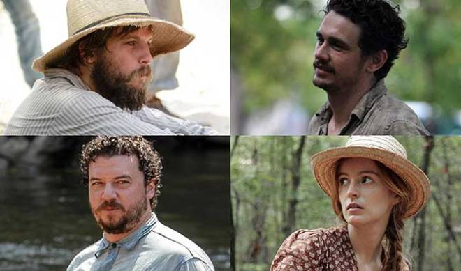 Clockwise from top left: Logan Marshall Green, James Franco, Ahna O'Reilly, Danny McBride (Photo courtesy of Millennium Films)