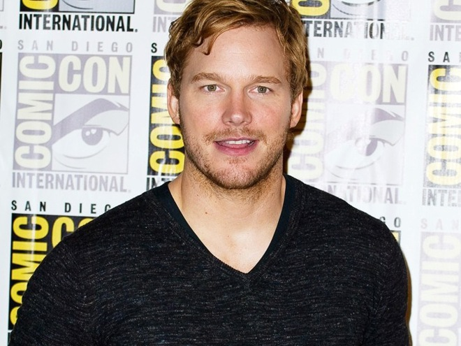 Chris Pratt at the San Diego Comic Con 2013 (Photo courtesy of Dreamworks/Disney)