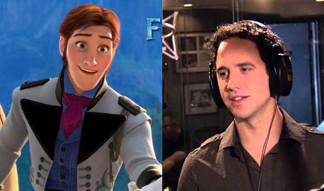 Tony Award nominee Santino Fontana voices Kristen Bell's character's suitor in 'Frozen.' (Photo courtesy of Walt Disney Studios Motion Pictures)