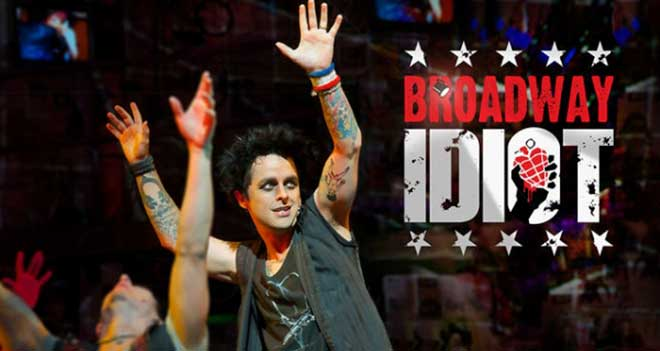 "Green Day in ""Broadway Idiot"" (Photo courtesy of broadwayidiot.com)"
