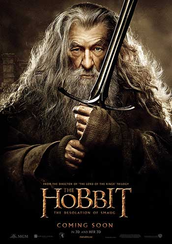 Ian McKellen as Gandalf (Photo courtesy of Warner Bros.)