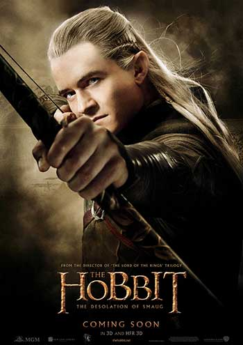 Orlando Bloom as Legolas (Photo courtesy of Warner Bros.)