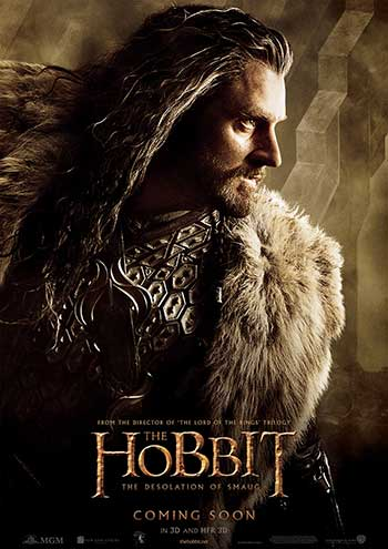 Richard Armitage as Thorin Oakenshield (Photo courtesy of Warner Bros.)