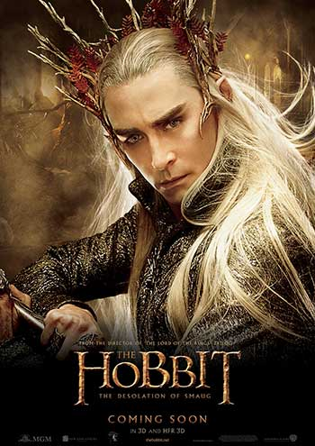 Lee Pace as Thranduil (Photo courtesy of Warner Bros.)