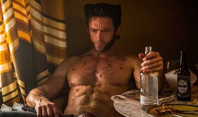 Hugh Jackman and his abs