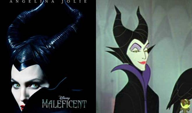 Maleficent face-off (Photos courtesy of Walt Disney Studios Motion Pictures)