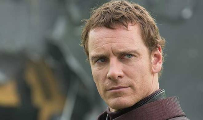 Michael Fassbender up close, just because.