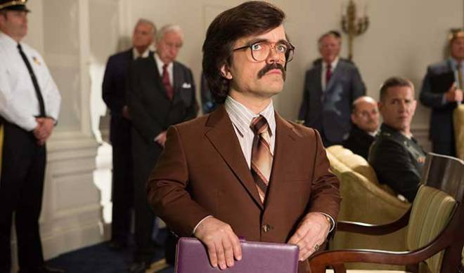 Probably one of the coolest people alive, Peter Dinklage joins the cast as Bolivar Trask, to the delight of geeks everywhere.