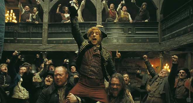"Sacha Baron Cohen in ""Les Miserables"" (Photo courtesy of Universal Pictures)"