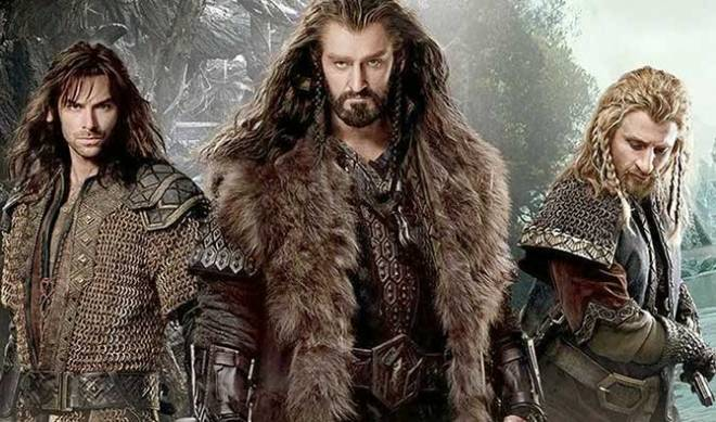 Aidan Turner as Kili, Armitage, and Dean O'Gorman as Fili (Photo courtesy of Warner Bros. Pictures)
