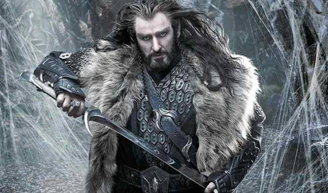 "Richard Armitage as Dwarf Prince Thorin in ""The Hobbit: The Desolation of Smaug"" (Photo courtesy of Warner Bros. Pictures)"