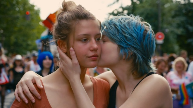 Blue is the Warmest Color, starring