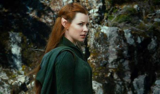 Evangeline Lilly as Tauriel (Photo courtesy of Warner Bros.)