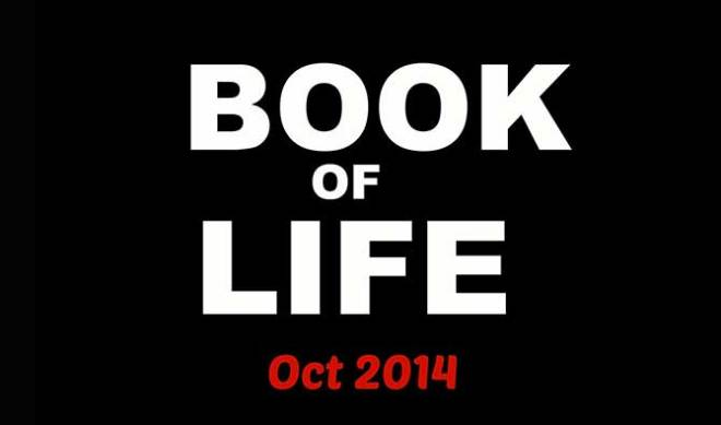 There is no trailer yet, but here is a photo from a Book of  Life Facebook page.