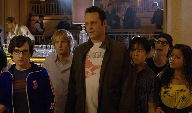 "There is no trailer yet, but here is star Vince Vaughn in his  most recent movie with 20th Century Fox, ""The Internship."""