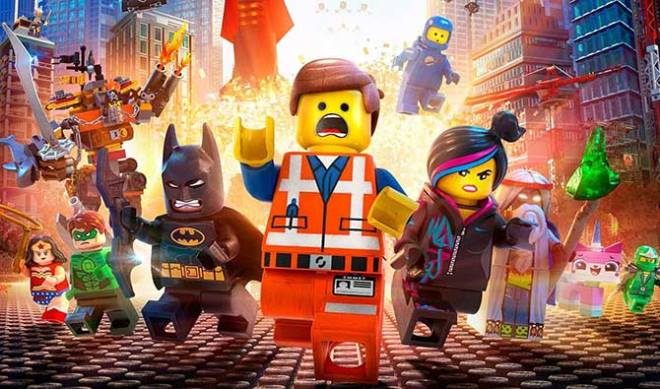 "We're super excited about ""The LEGO Movie""! (Photo courtesy of Warner Bros.)"