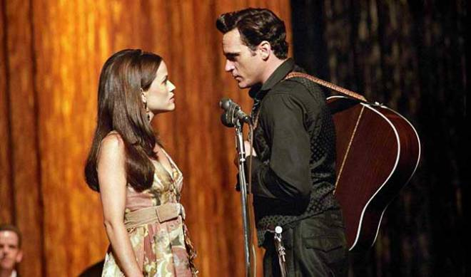 """There is no trailer for """"Inherent Vice"""" yet, but here are costars Reese Witherspoon and Joaquin Phoenix in their previous collaboration, 2005's """"Walk the Line."""" (Photo courtesy of 20th Century Fox)"""