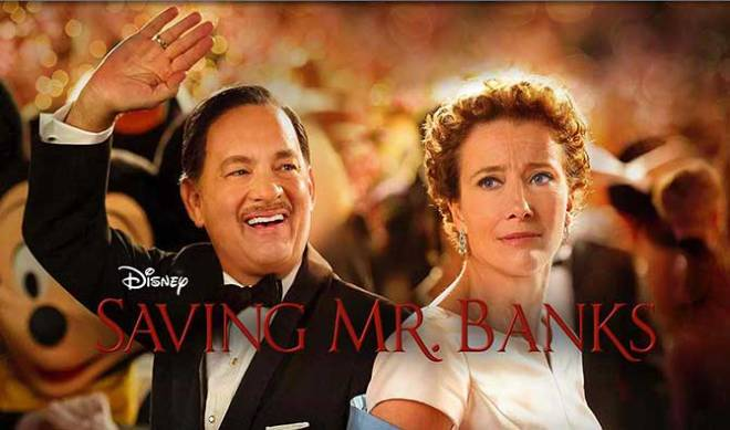 "Tom Hanks and Emma Thompson in ""Saving Mr. Banks"" (Photo courtesy of Walt Disney Studios Motion Pictures)"