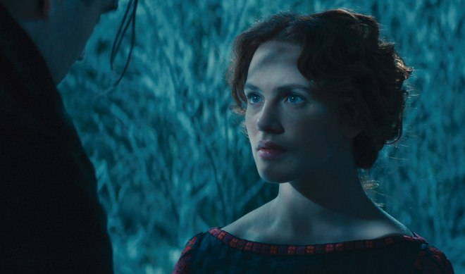 "Jessica Brown Findlay in ""Winter' Tale"" (Photo courtesy of Warner Bros.)"