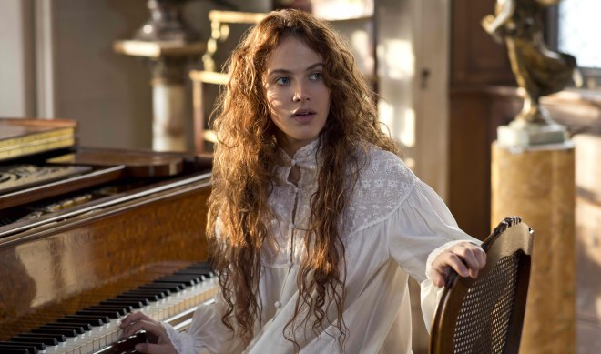 "Jessica Brown Findlay in ""Winter's Tale"" (Photo courtesy of Warner Bros.)"