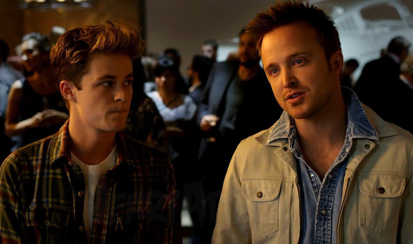 Breaking Bad's Aaron Paul has a Need for Speed – The Movie ...
