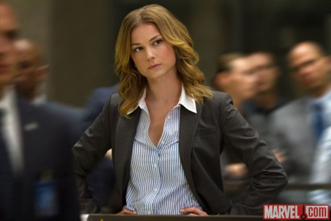 """Emily VanCamp as Agent 13 in """"Captain America: The Winter Soldier"""" (Photo courtesy of Marvel/Walt Disney Studios Motion Pictures)"""