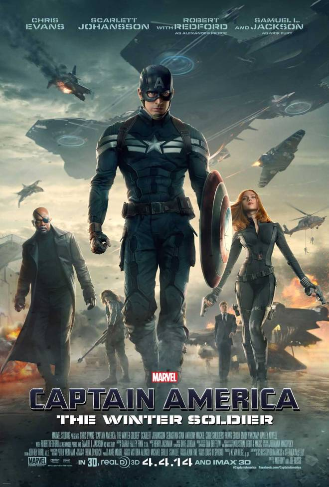 """""""Captain America: The Winter Soldier"""" opened in Philippine cinemas March 26. (Photo courtesy of Marvel/Walt Disney Studios Motion Pictures)"""