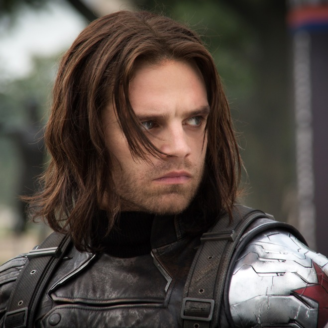 """Sebastian Stan as Bucky Barnes/Winter Soldier in """"Captain America: The Winter Soldier"""" (Photo courtesy of Marvel/Walt Disney Studios Motion Pictures)"""