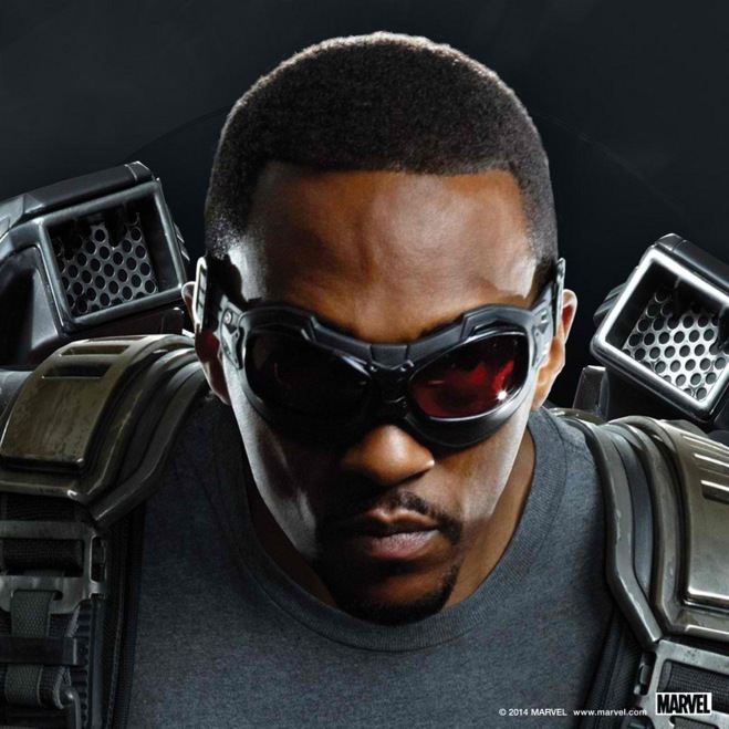 """Anthony Mackie as Sam Wilson/Falcon in """"Captain America: The Winter Soldier"""" (Photo courtesy of Marvel/Walt Disney Studios Motion Pictures)"""