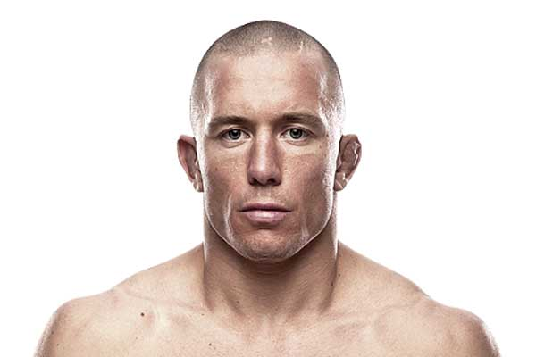 UFC fighter Georges St-Pierre (Photo courtesy of ufc.com)