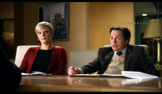 Recurring guest stars Martha Plimpton and Michael J. Fox