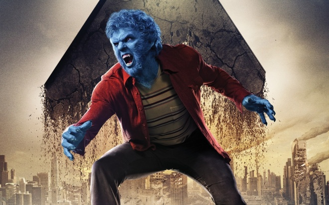 "Nicholas Hoult as Beast in ""X-Men: Days of Future Past"" (Photo courtesy of 20th Century Fox)"