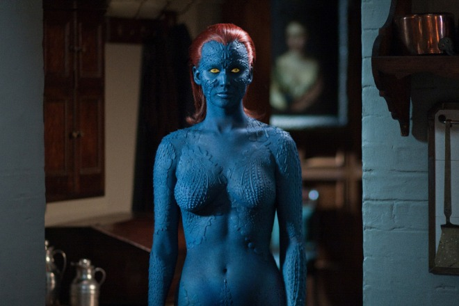 "Jennifer Lawrence as Mystique in ""X-Men: Days of Future Past"" (Photo courtesy of 20th Century Fox)"