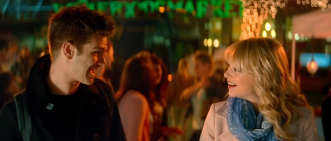 Andrew Garfield and Emma Stone on The Amazing Spider-Man 2