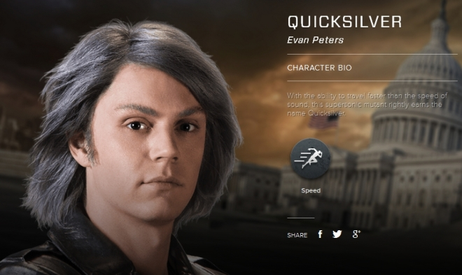 "Evan Peters as Quicksilver in ""X-Men: Days of Future Past"" (Photo courtesy of 20th Century Fox)"