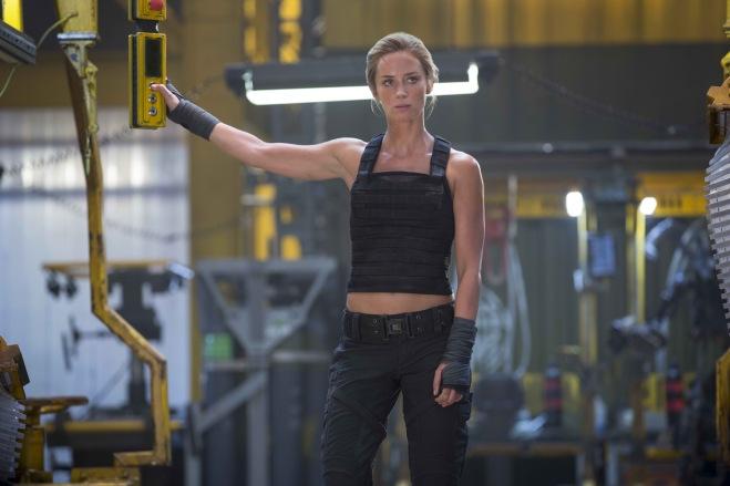 "Emily Blunt in ""Edge of Tomorrow"" (Photo courtesy of Warner Bros.)"
