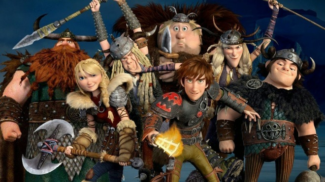 "The gang's all back in ""How to Train Your Dragon 2."" (Photo courtesy of DreamWorks Animation)"