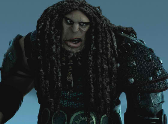 "The big bad: Drago Bludvist (Djimon Honsou) in ""How to Train Your Dragon 2"" (Photo courtesy of DreamWorks Animation)"