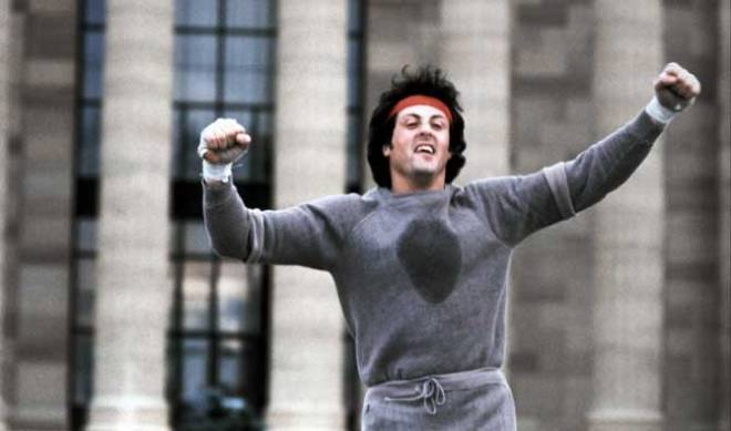 "Two of us picked ""Rocky"" among our favorite sports movies! (Photo courtesy of United Artists)"