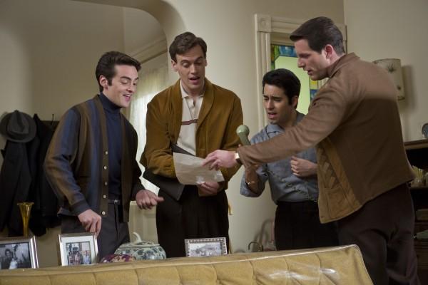 """Jersey Boys,"" starring Vincent Piazza, Erich Bergen, John Lloyd Young, and Michael Lomenda."