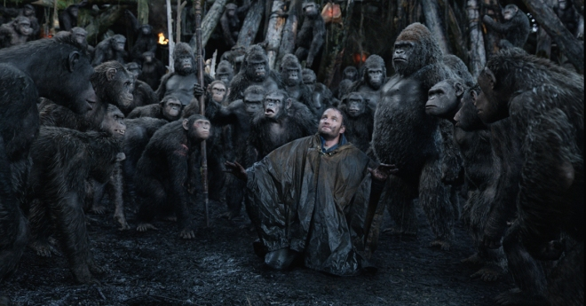 Dawn of the Planet of the Apes. Directed by Matt Reeves, distributed by 20th Century Fox.