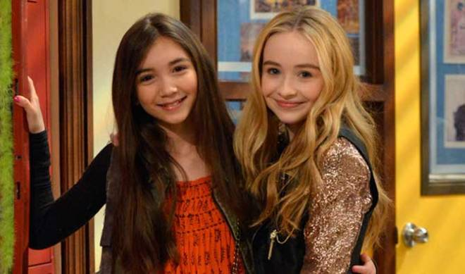 Rowan Blanchard and Sabrina Carpenter are real-life besties too.