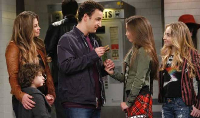 Cory and Topanga hand Riley her very own stored-value (I assume) Subway ticket so she can, you know, meet the world on her own.
