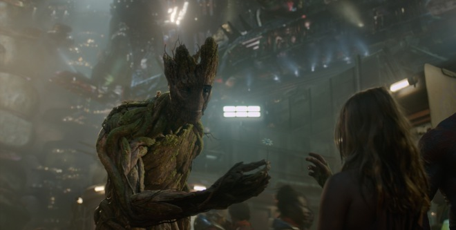 The Vin Diesel-voiced Groot was a big hit. (Photo courtesy of Marvel/Disney)