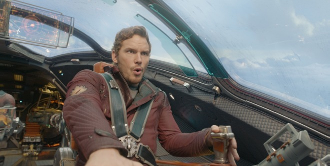 "Chris Pratt in ""Guardians of the Galaxy"" (Photo courtesy of Marvel/Disney)"
