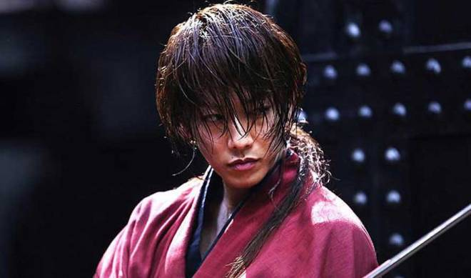 "Takeru Satoh as Kenshin Himura in ""Rurouni Kenshin: The Legend Ends"" (Photo courtesy of Warner Bros.)"