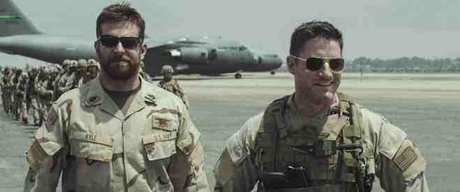 "Bradley Cooper (left) as Chris Kyle in ""American Sniper."" (Photo courtesy of Warner Bros.)"
