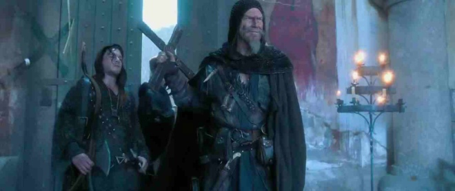 "Jeff Bridges is a mentor to Ben Barnes' in ""Seventh Son."" (Photo courtesy of Universal Pictures)"