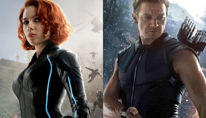 Black Widow and Hawkeye, tease us more, why don't you? (Photo courtesy of Marvel Studios)